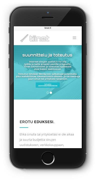 Tiinet Tuomo Kokkarinen nettisivut yritykselle - kotisivut yritykselle - www.tiinet.fi